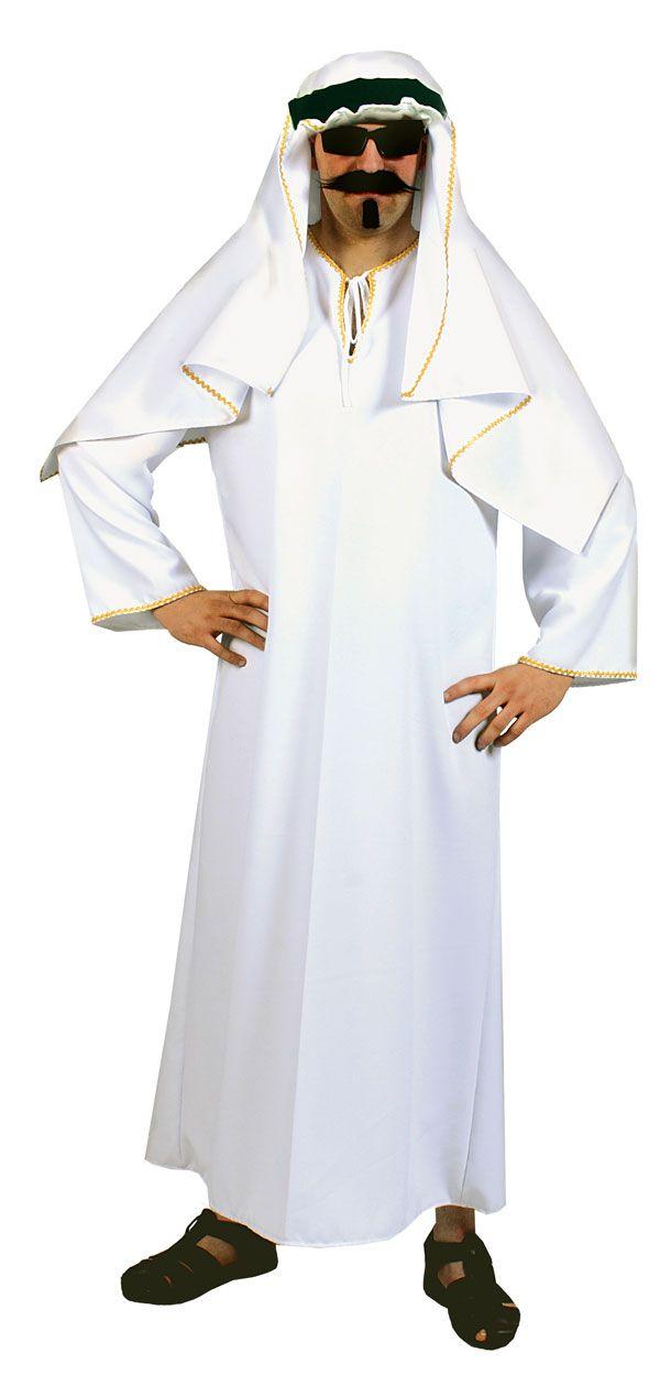 Arab Sheik Costume- plus size fancy dress costume | XL Shiek ...