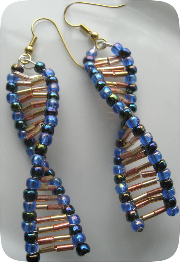Dna Earring Tutorial Making A Pair Of Dna Earrings You ...