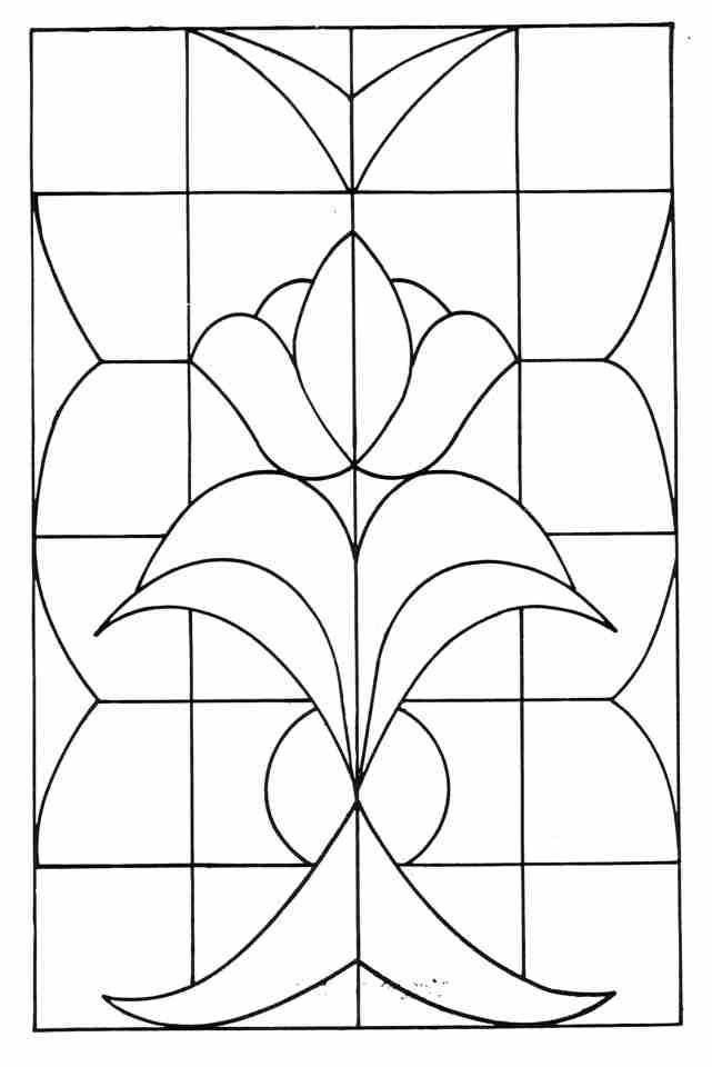 Resultado de imagen de plantillas para vidrieras medievales ...