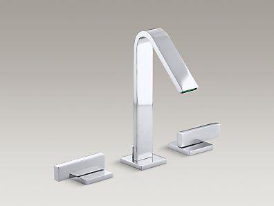 Kohler K 98068 3m Artifacts Widespread Bathroom Sink Faucet With Kohler  Bathroom Sink Faucet