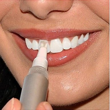 Tooth Cleaning Whitening Gel Pen Used In Dental Teeth Oral Care