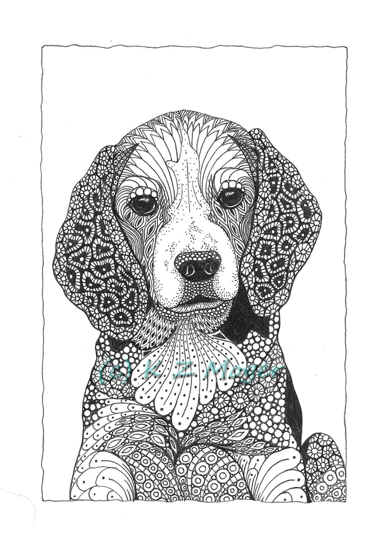 Art image by Laureen | Zentangle animals, Animal drawings ...