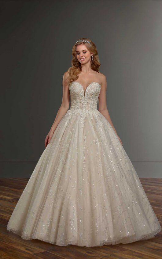 b7c7add0d Glam Ballgown with Sequin Details in 2019 | Breathtaking Wedding ...