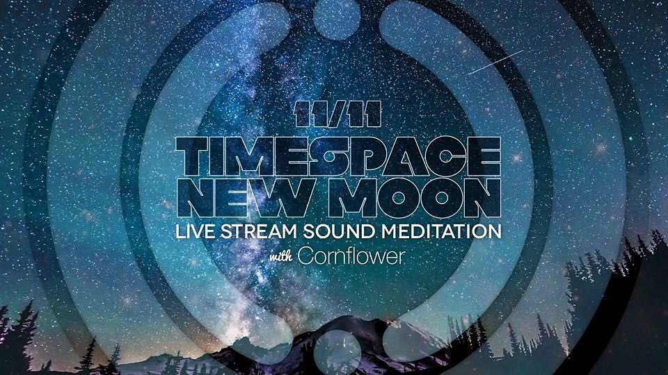 On Wednesday 11/11 @ 6pm Pacific we are attuning once again to the rhythm of the Moon via live stream for the next TimeSpace New Moon Sound Meditation!  This will be the 5th one of the year and the resonance is building from your growing presence with this sacred cycle of sound and intention.  Learn more about the 11/11 TimeSpace New Moon Sound Meditation: http://cflow.co/20151111-TimeSpace  Let your friends know you are riding the lunar tides!  #Music #LiveMusic #LiveStream #LiveLooping…