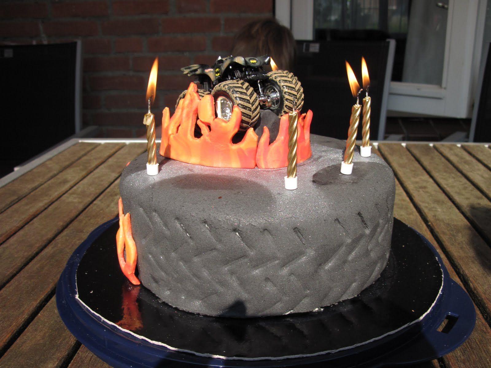 monstertruck taart 3