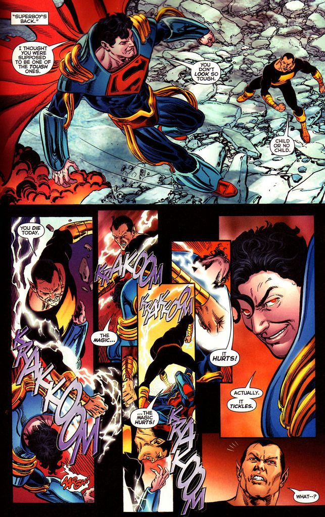 captain marvel jr vs superboy