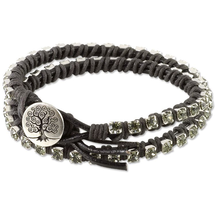 Classic Bangle 316L Stainless Steel Magnetic Clasp Bling
