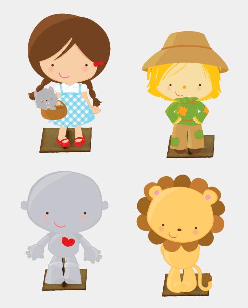 personagens de o magico de oz - Pesquisa Google