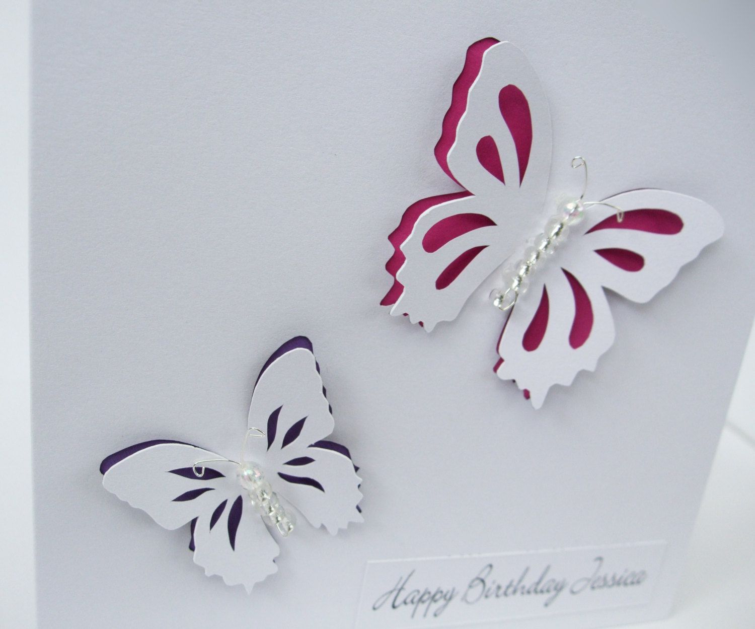 Butterfly birthday card beautiful paper cut butterflies cards butterfly birthday card beautiful paper cut butterflies butterfly birthday cardspaperbeautifulhandmade kristyandbryce Images