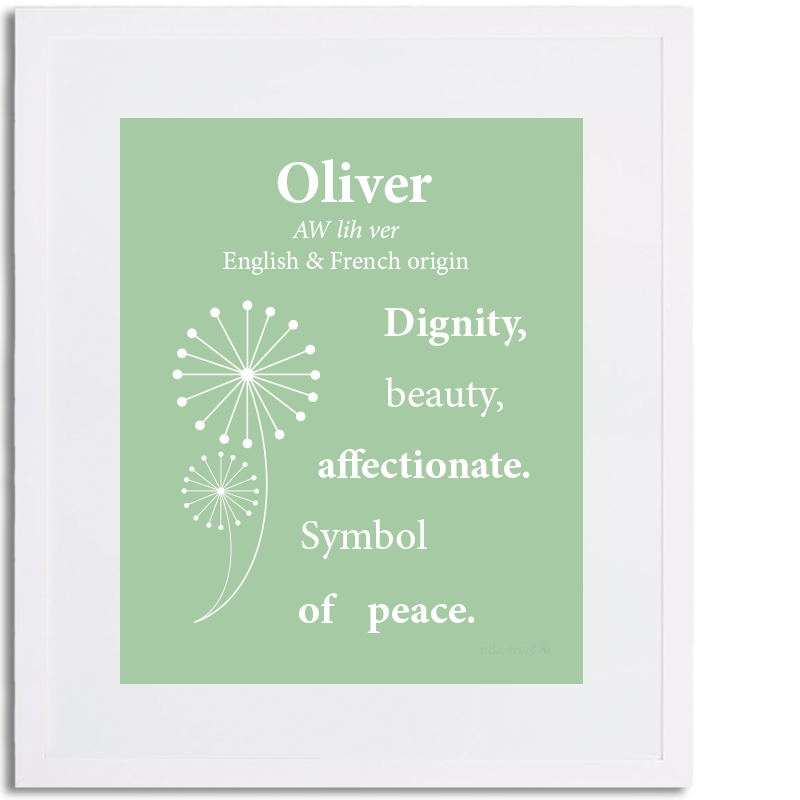 Image Result For Oliver Name Meaning