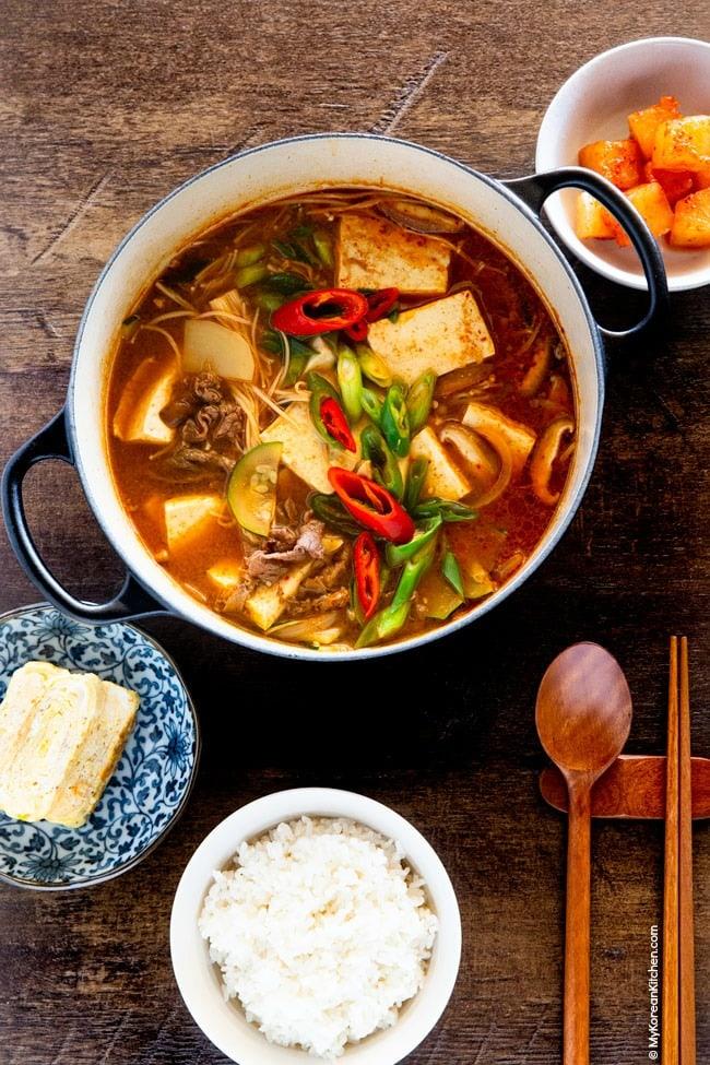 Doenjang Jjigae Korean Soybean Paste Stew Recipe Doenjang Jjigae Recipe Jjigae Recipe Recipes