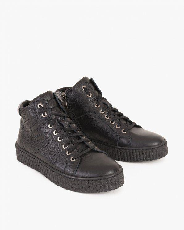 Tramki Ozdobne 005 20371 Cza L Black Sneaker Top Sneakers All Black Sneakers