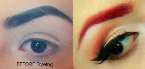 how to dye eyebrows red @Sara Ashouri | Bryn | Pinterest | Dye ...