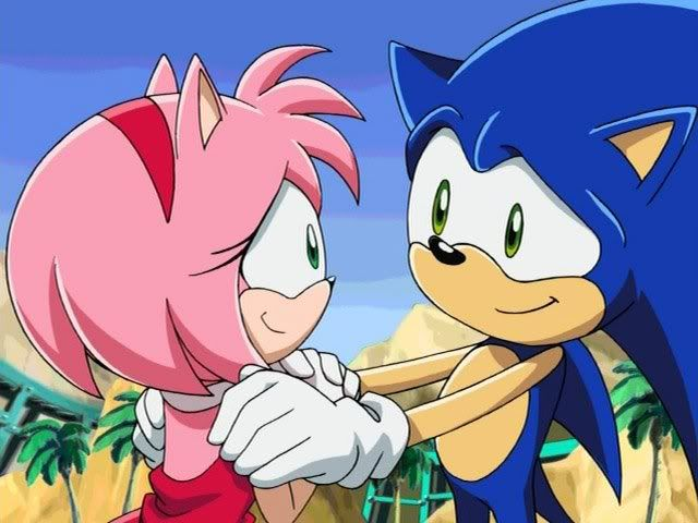 I M Not Much Of A Sonic X Amy Shipper But This Is Pretty Cute Sonic And Amy Sonic And Shadow Sonic