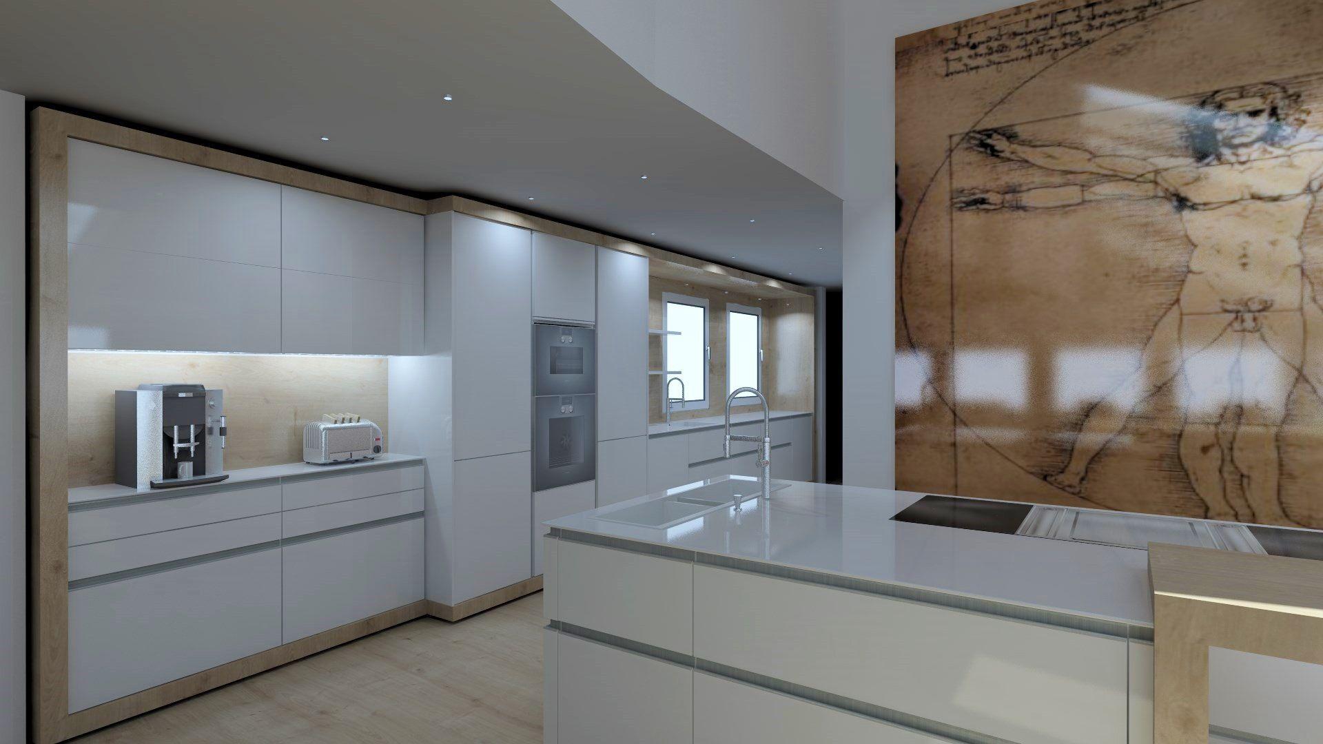 Global Kitchen Design Worldwide Leicht Cocinas De Nopper Kuche Wohnraum Raum