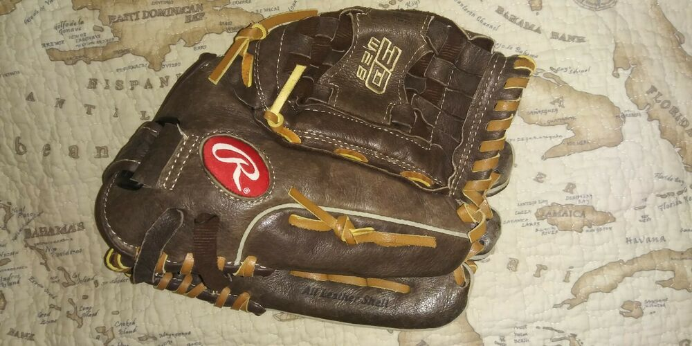 Rawlings Fp125 12 1 2 Fastpitch Leather 3d Web Mitt Right Hand Softball Glove Rawlings Softball Gloves Rawlings Fastpitch