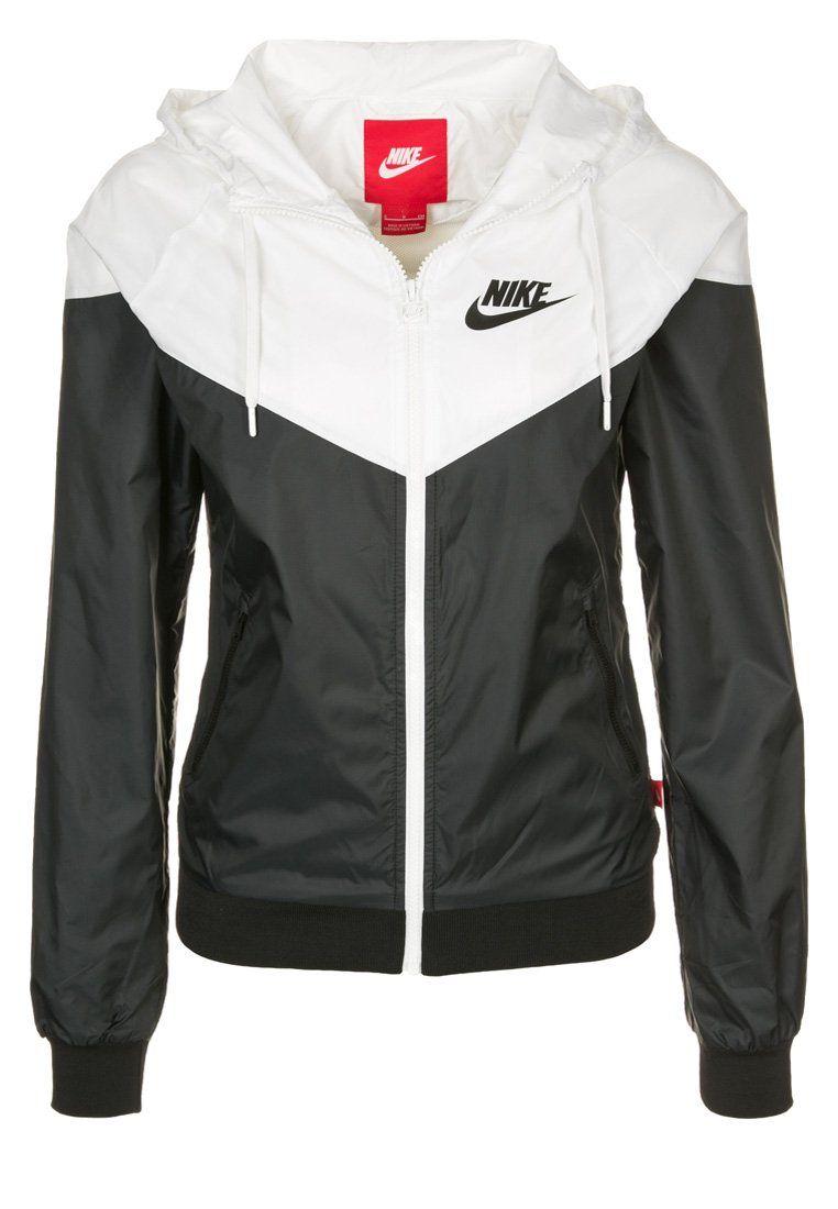 ec38fbc80c Nike Sportswear - WINDRUNNER - Lett jakke - black white
