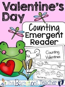 Valentine's Day Counting Emergent Reader - Practice counting up to eleven while celebrating Valentine's Day at the same time!