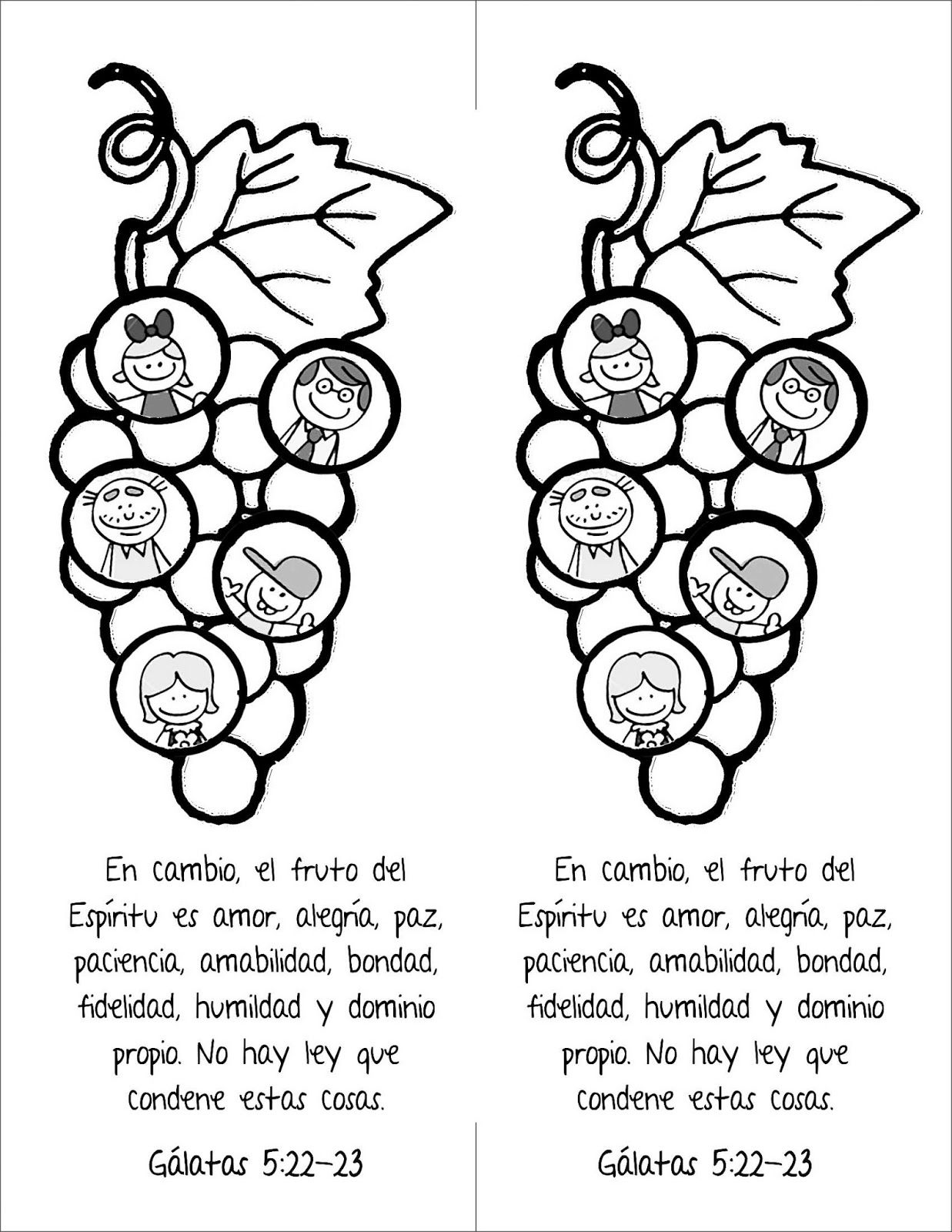 Biblia Ideas: Frutos de Espiritu Santo | Catequesis | Pinterest ...