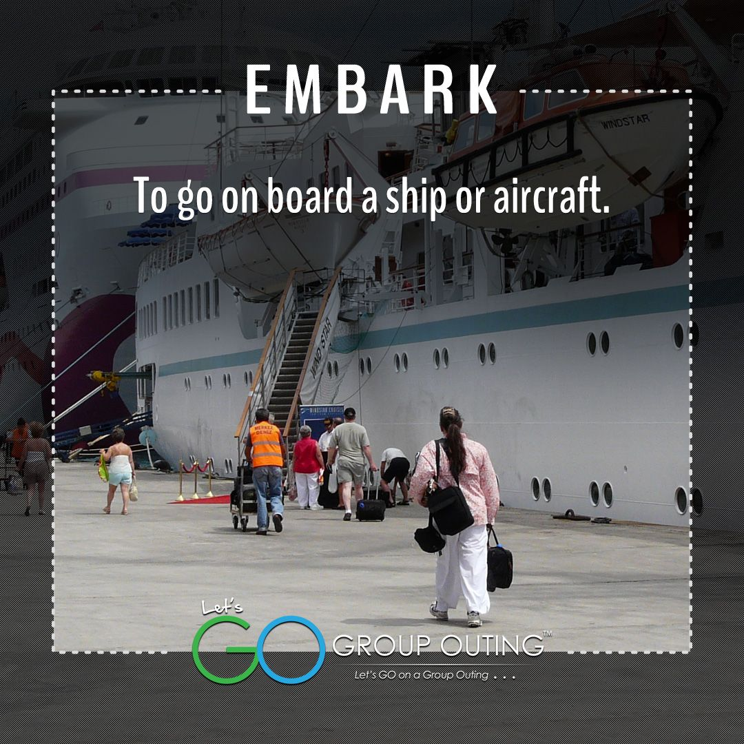 Did you know the #travelterm Embark??? #GoGroupOuting #GroupOuting