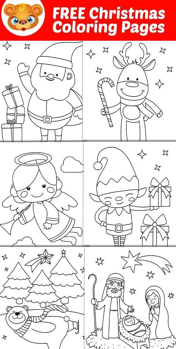 Free Christmas Printable 123 Kids Fun Apps Printable Christmas Coloring Pages Christmas Coloring Pages Free Christmas Coloring Pages