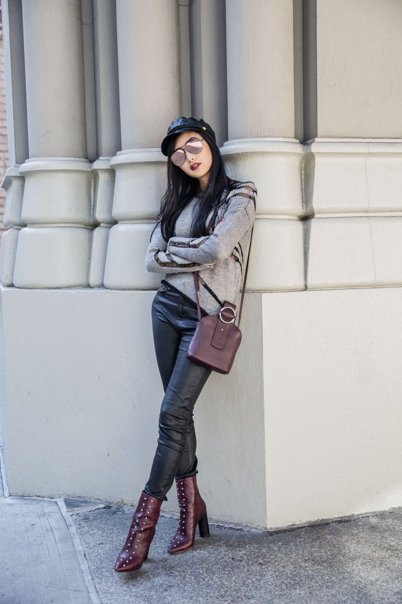 Burgundy Outfit Trends that Always Work - #Always #Burgundy #Outfit #That #Trends #work #asymmetrischerschnitt
