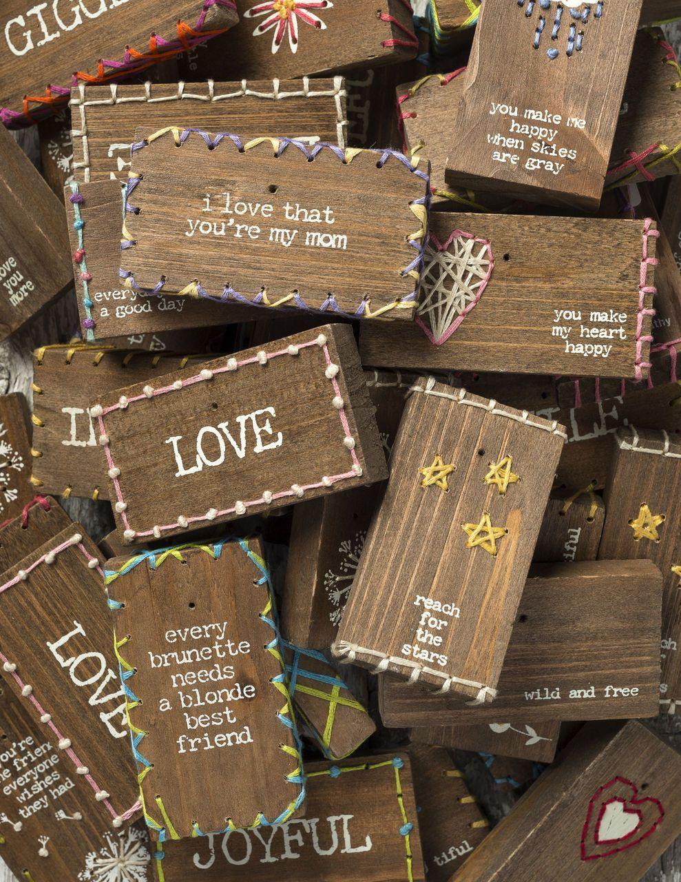 Details about Stitched Block Wood Primitives By
