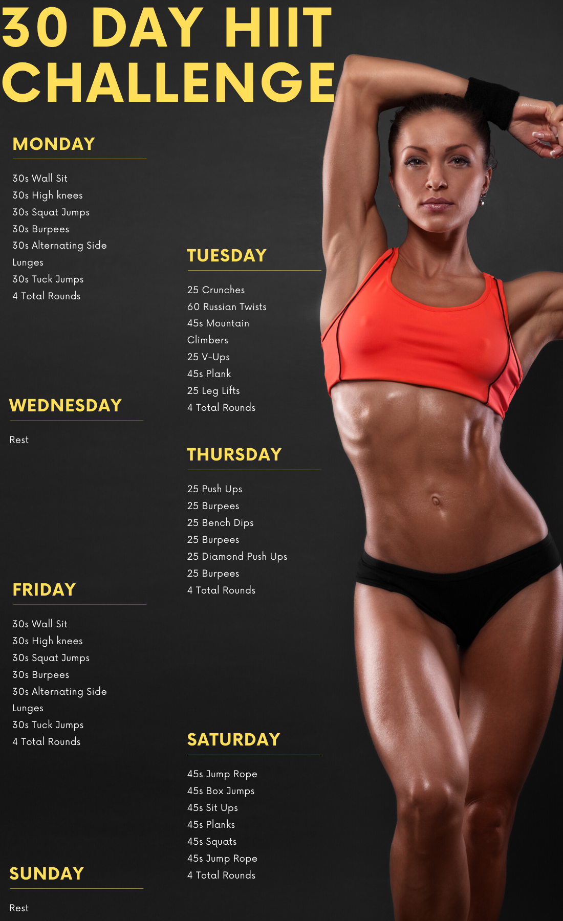Home Hiit Workout Bodybuilding