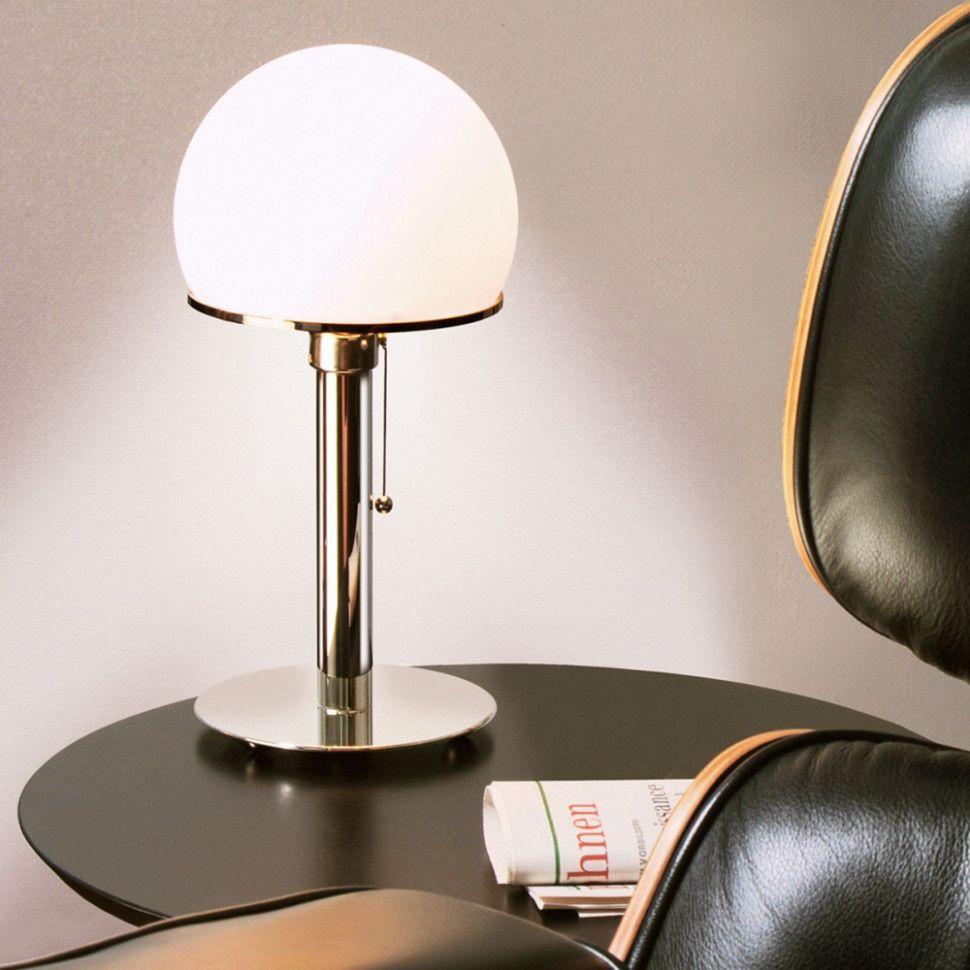 Wohnzimmer Lampe Bauhaus  Lampentisch, Tischleuchte, Lampendesign