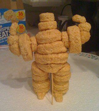 Michelin Bread Man