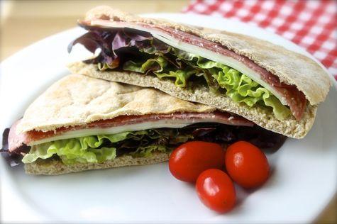 Sándwich de pan pita