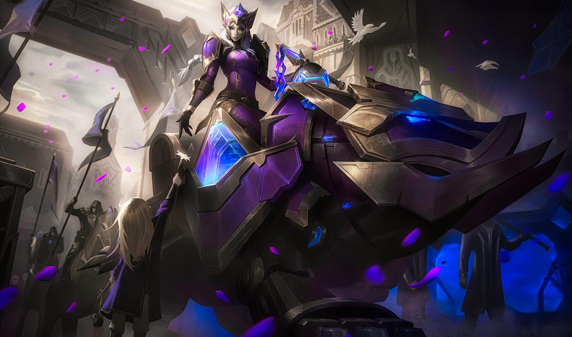 How To Obtain Lol New Exclusive Hextech Sejuani Skin L2pbomb League Of Legends Characters League Of Legends Funny News