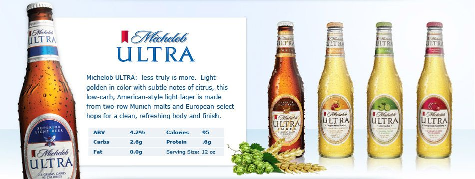 Brand Family   Michelob ULTRA New Light Cider | Gluten Free