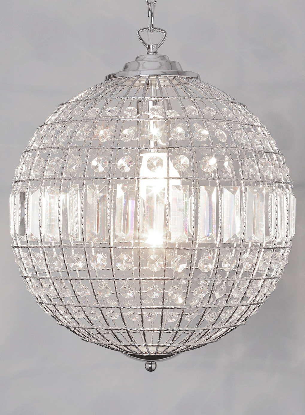 Photo 1 of ursula small crystal ball pendant light lighting photo 1 of ursula small crystal ball pendant light arubaitofo Images