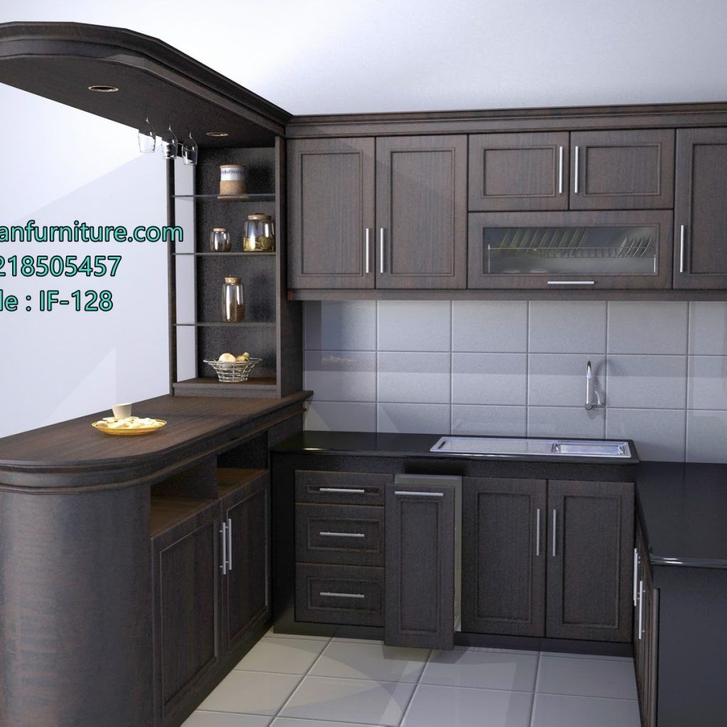 Minimalist Kitchen Set In Bogor