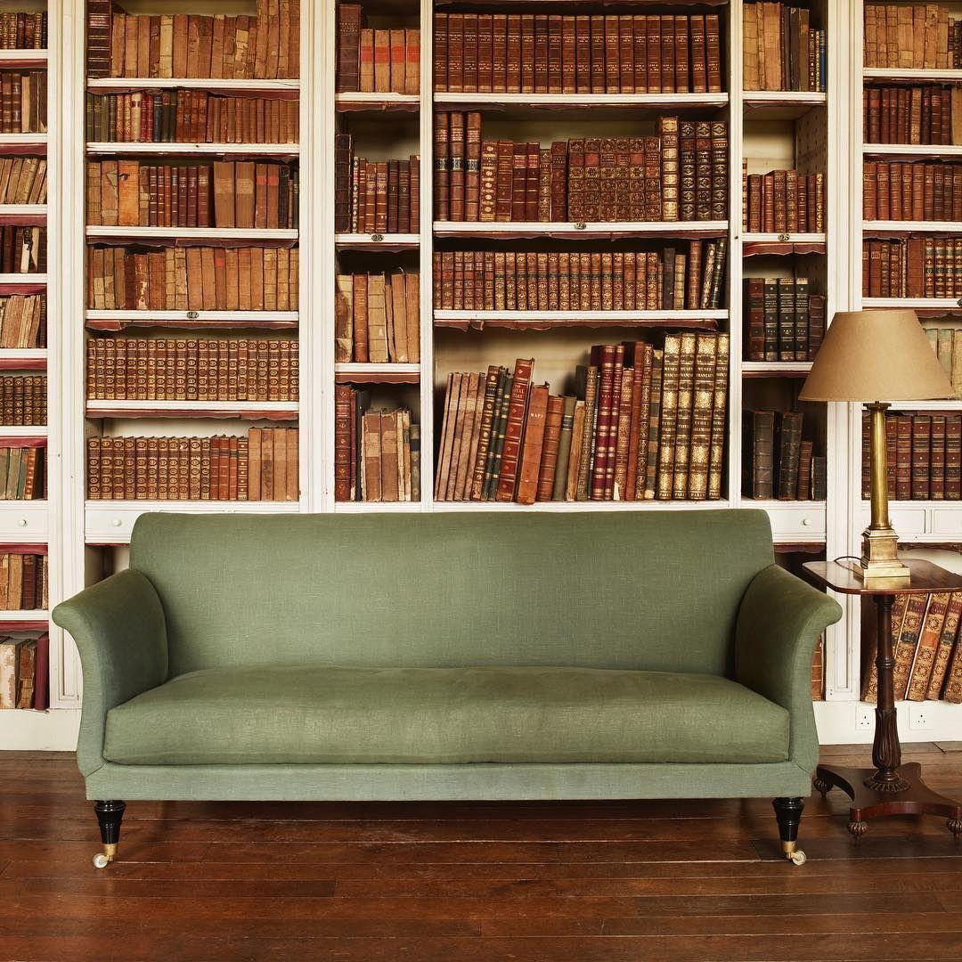 Jamb London On Instagram The Holland Sofa A Regency Style Mahogany Reproduction Of An 1810 1820 Original Photo Georgian Interiors Beautiful Sofas Furniture