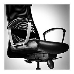 Markus Office Chair Glose Black Robust Black With Images