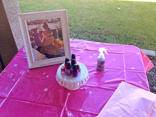 Princess Birthday Party Activities Painting Nails Kids Birthday