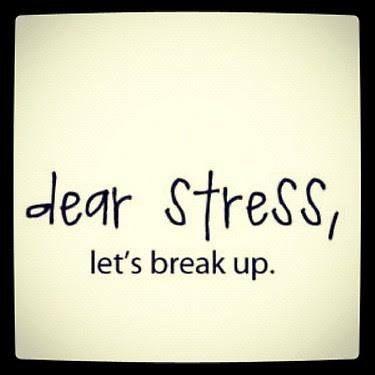 Beau Dear Stress, Letu0027s Break Up Funny Quote Life Lifequote Breakup Stress