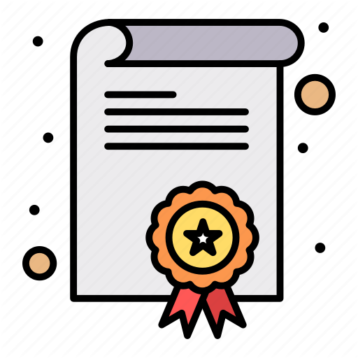 Certification Degree Diploma Icon Download On Iconfinder Greeting Card Display Icon Display Cards