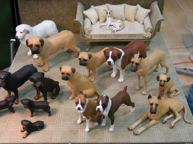 Miniature Enthusiasts Of Toronto Show Cats And Dogs By Karl