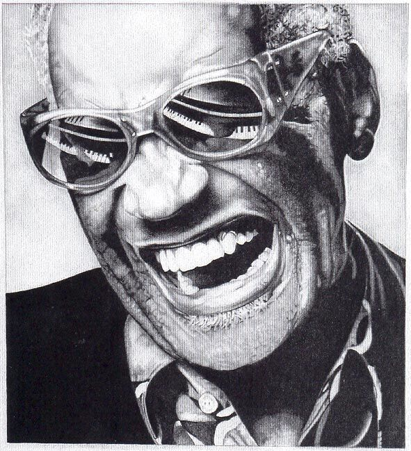 Ray Charles - the great behind 'Georgia On My Mind' and 'Hallelujah I Love Her So'