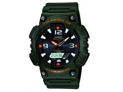Relógio Masculino Casio AQ-S810W-3AVDF - Anadigi com Cronômetro e Calendário com as melhores condições você encontra no Magazine Megaofertaprime. Confira!