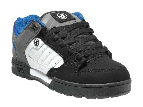 e259f8f0e535 New DVS Skate Moto Shoes Boots MILITIA SNOW BLACK WHITE GRAY
