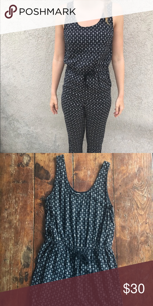 ff9462a3a9 Black and White JumpSuit with Tank Top  amp  Full Pant Black and white  patterned jumpsuit