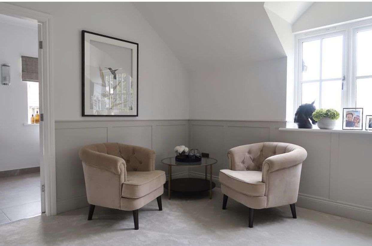 Half Panelled Walls Living Room Panelling Wall Paneling Ideas Living Room Living Room Decor Modern