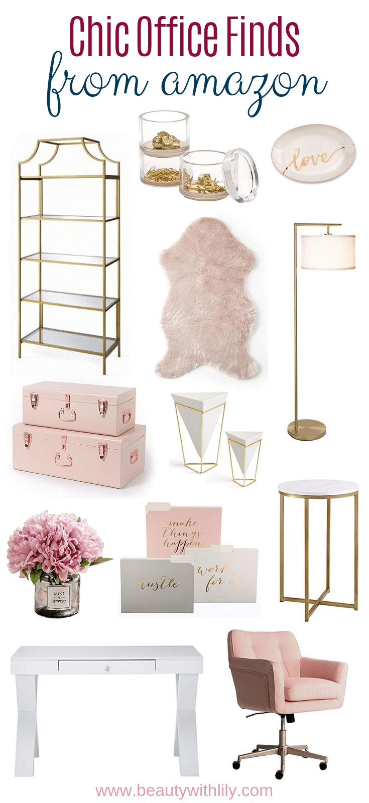 Chic Office Finds From Amazon Chic office decor, Home
