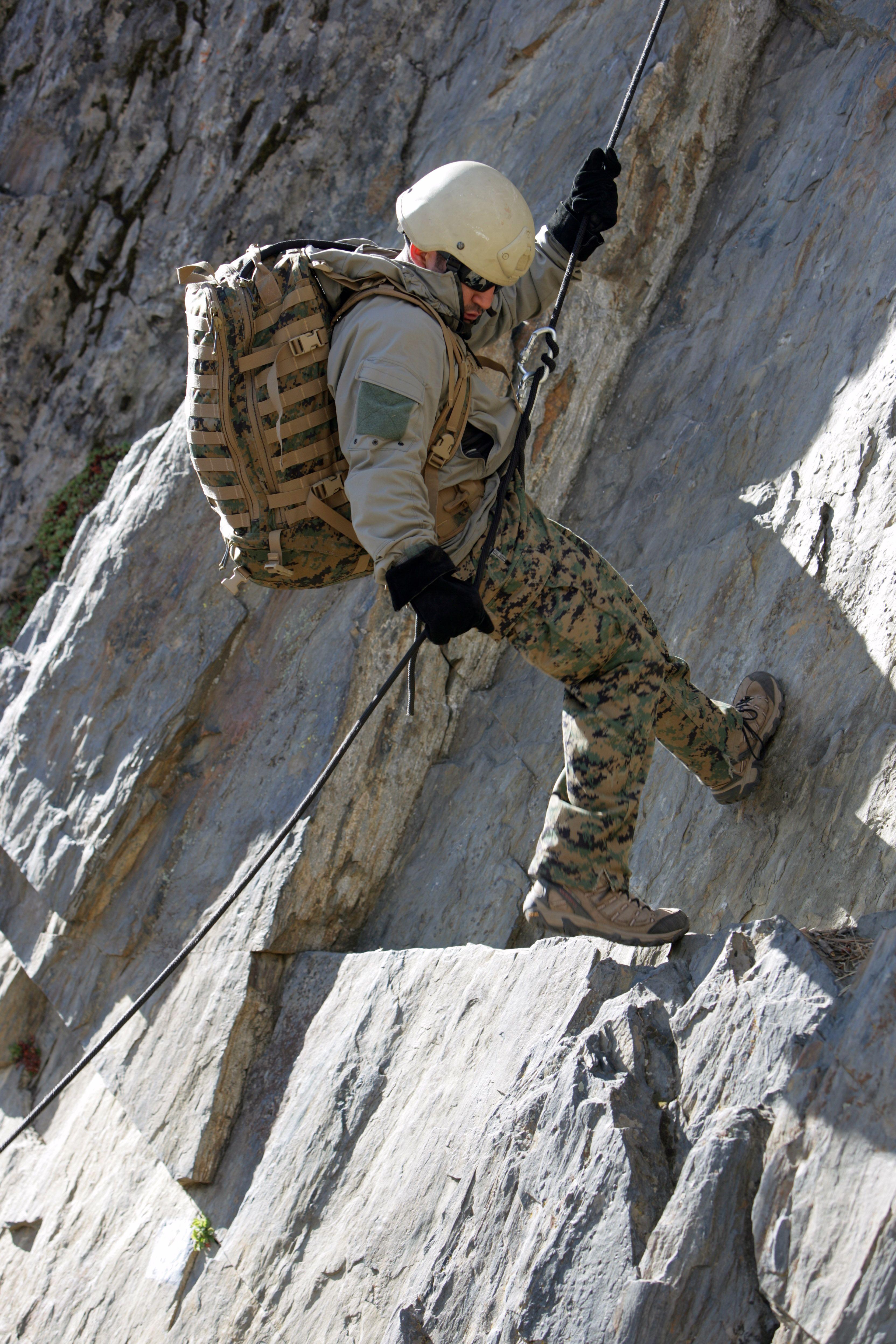 Navy Special Amphibious Recon Corpsman (SARC) with Recon Marine ...