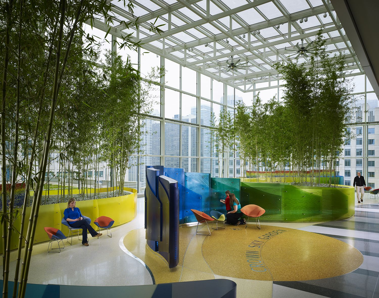 Exploring The Crown Sky Garden At Lurie Children 39 S Http