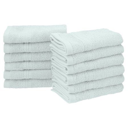 Superior Eco Friendly 100 Ringspun Cotton 12pc Face Towel Set